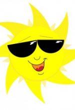 हिंदी बाल कविता 'उगता सूरज' (Poem on Sun in Hindi)